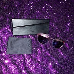 Christian Dior Purple So Real Sunglasses